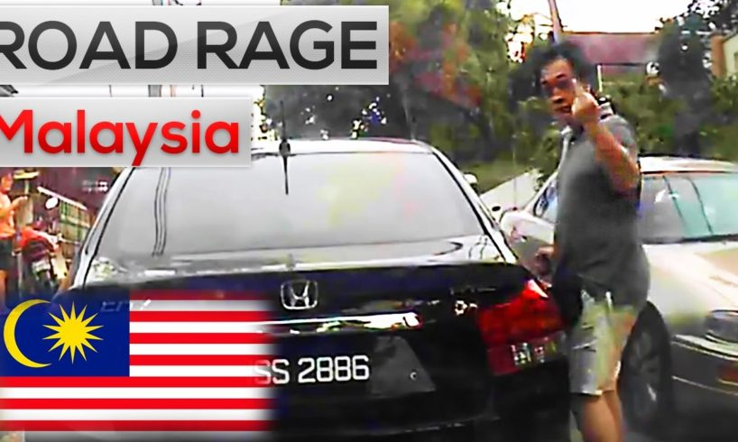 Malaysia Road Rage & Car crashes || Road rage fight, knockouts