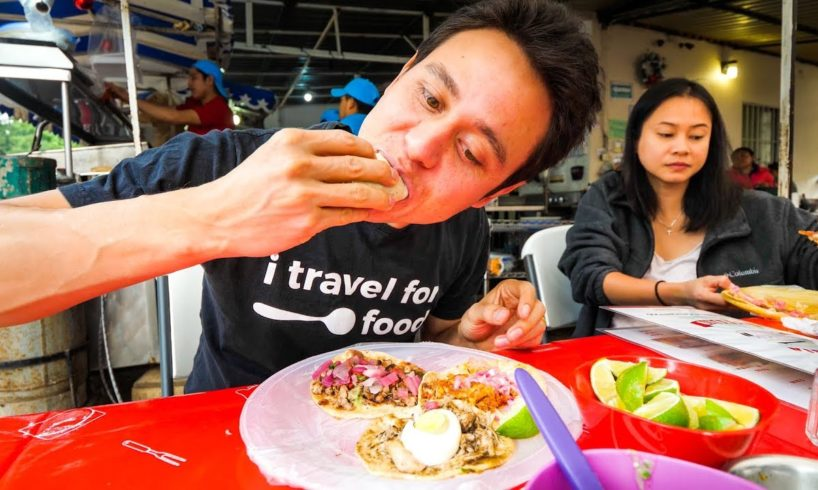 Mexican Food in Tulum! - PARADISE CEVICHE and Tacos! | Riviera Maya, Mexico
