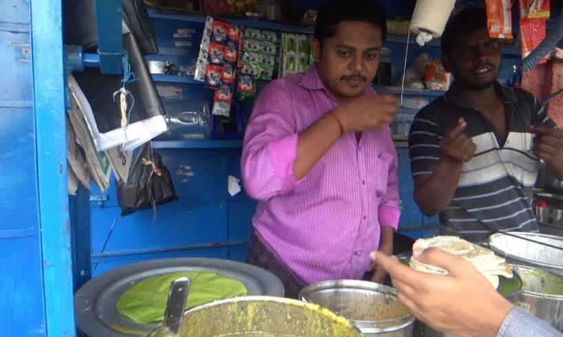 Morning Street Food Chennai - Opposite Egg More Railway Station