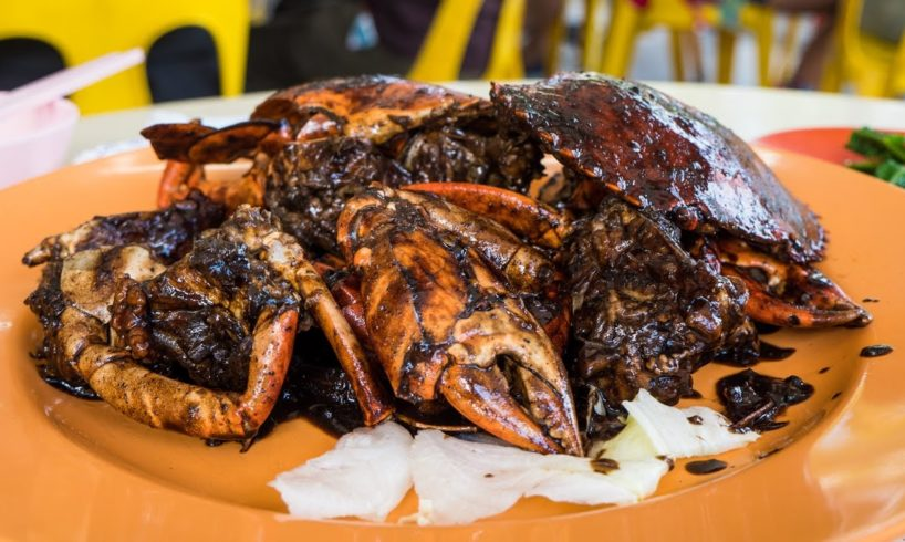 Must-Eat Singapore Food - Legendary BLACK PEPPER CRAB at Eng Seng Restaurant!
