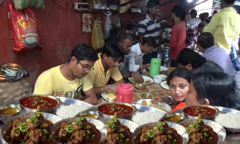 Mutton Rice @ 90 rs Per Plate | Street Food Heaven in India | Kolkata Deckers Lane Esplanade