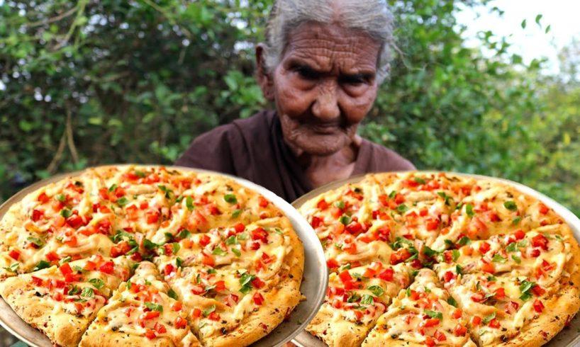 Pizza | Chicken Pizza | Chicken Pizza Cooking by our grandma
