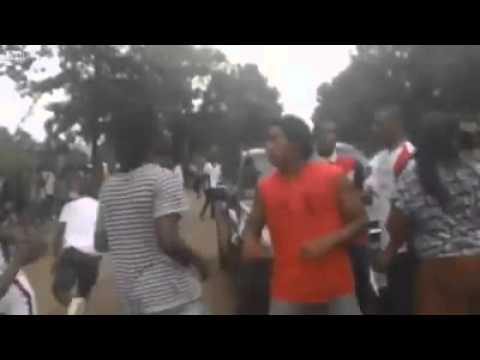 Play DMX in a middle of a Hood Fight!!