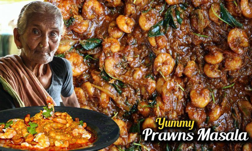 Prawn Masala Curry    Yummy Prawns Recipe By Granny Mastanamma
