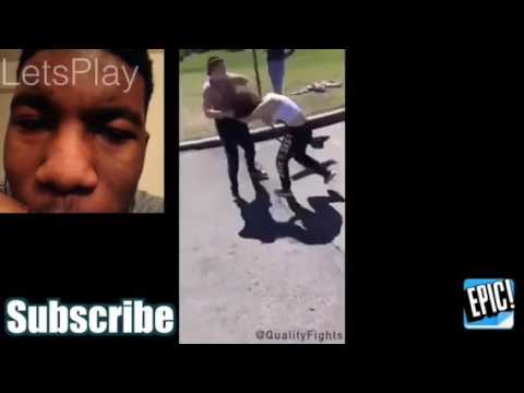 """REACTION TO """"WSHH HOOD FIGHTS COMPILATION """""""
