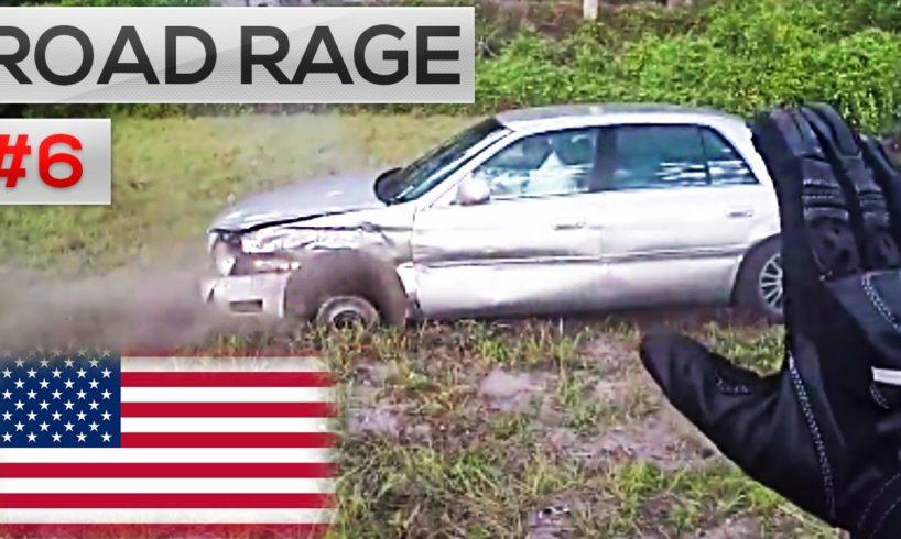 ROAD RAGE IN AMERICA 2016 || North American Сar ROAD RAGE & USA Car Crashes on dash camera #6