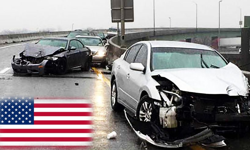 ROAD RAGE IN AMERICA - Ultimate North American Driving Fails, Stupid  Drivers Fails & Road Rage #11