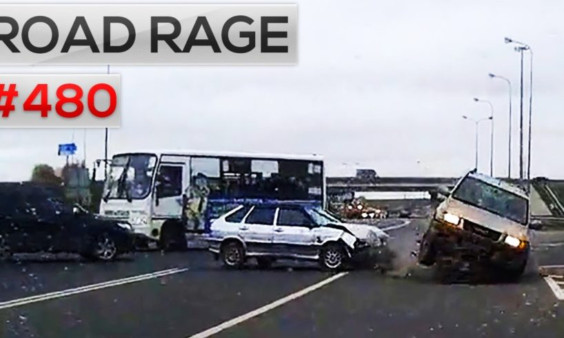 ROAD RAGE & CAR CRASHES, Bad drivers compilation #480