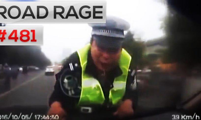 ROAD RAGE & CAR CRASHES, Bad drivers compilation #481