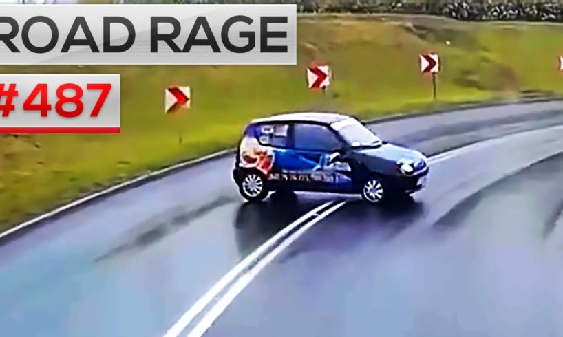 ROAD RAGE & CAR CRASHES, Bad drivers compilation #487