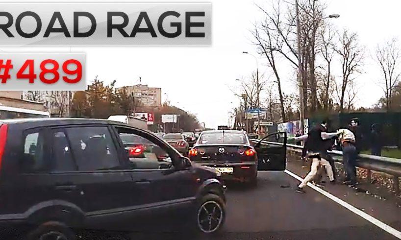 ROAD RAGE & CAR CRASHES, Bad drivers compilation #489