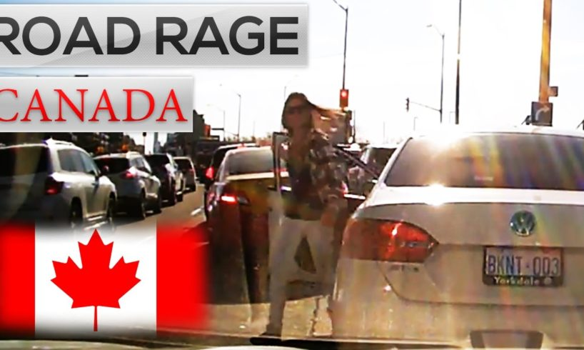 ROAD RAGE in CANADA & North American car crashes COMPILATION 2016    Bad Drivers of Canada