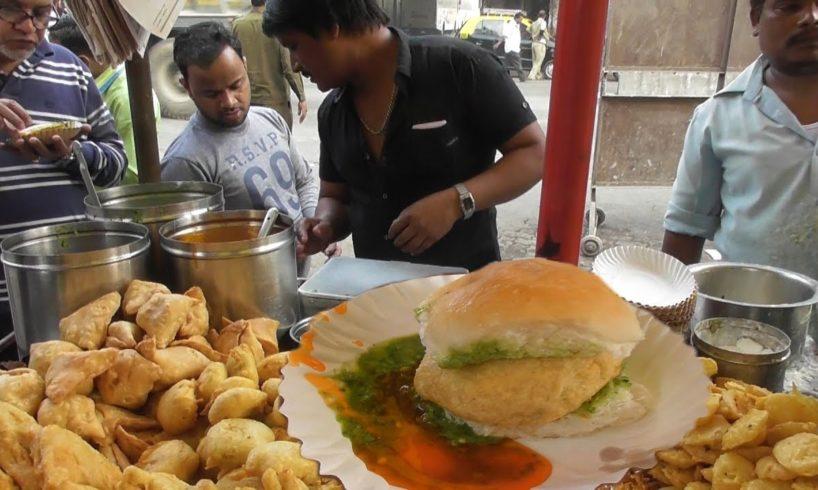 Samosa 10 rs - Vada Pav & Sandwich 12 rs - Aloo Bajji 20 rs Plate | Common Street Food Mumbai