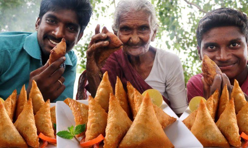 Samosa Recipe | How to make Samosa with Granny Mastanamma