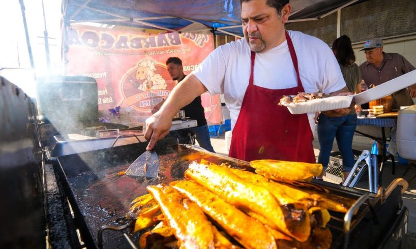 The Original Taco Bell Tacos - MEXICAN STREET FOOD Tour in Los Angeles, California!