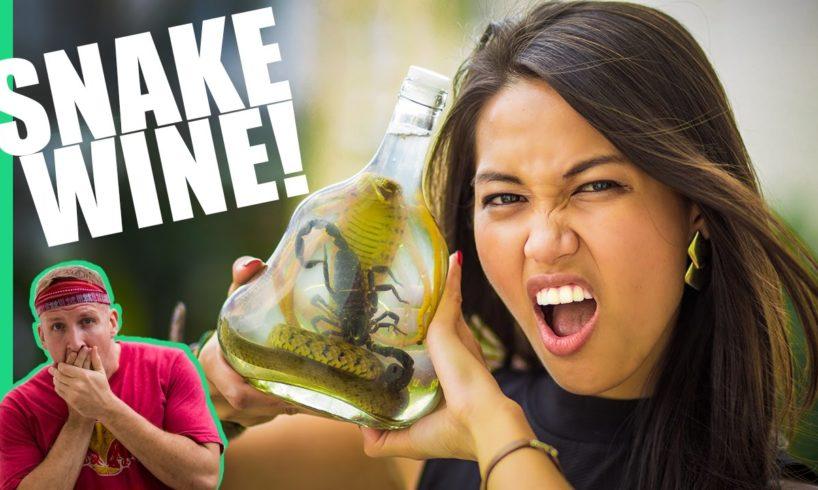 The Snake Wine Challenge in Vietnam!