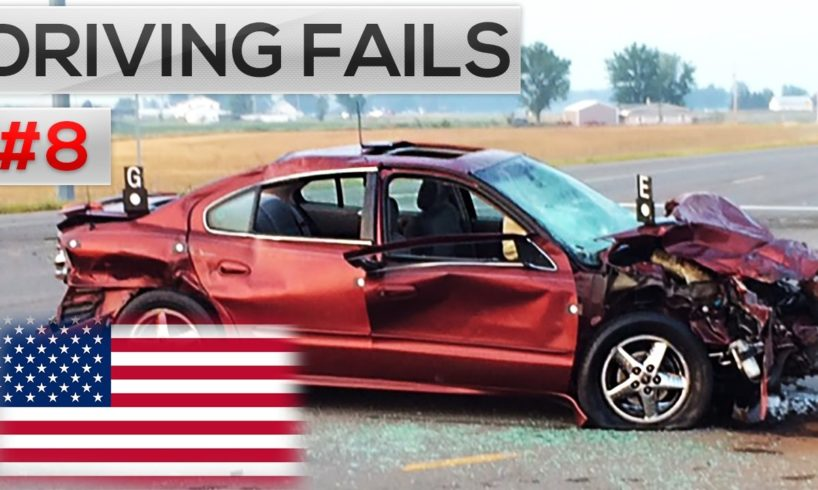 Ultimate North American Driving Fails 2017 -  Road rage & Car Crashes in America #8