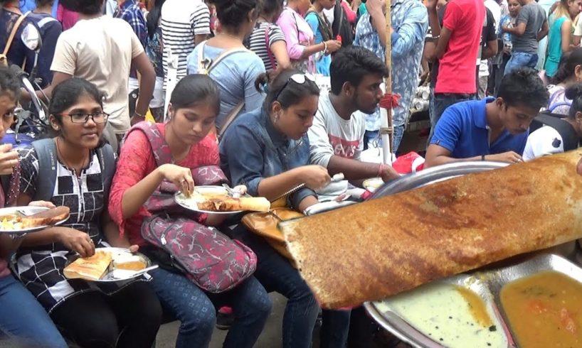 Unlimited Shopping & Eating ( Masala Dosa ) | Street Food Kolkata New Market