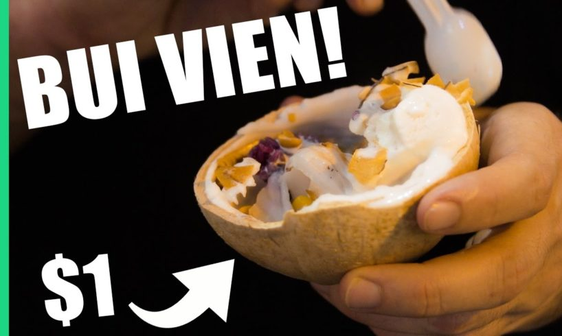 Vietnam's best STREET FOOD on Saigon's wildest street, Bùi Viện!