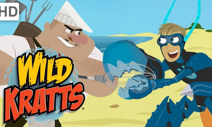 Wild Kratts🍴Part 4: Creature Rescue from the Villainous Chef | Kids Videos