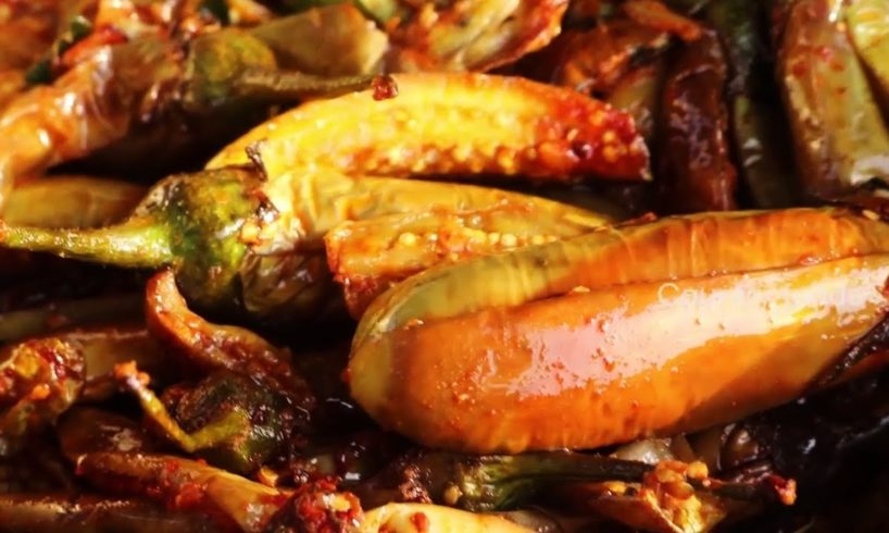 Yummy Brinjal Roast By 106 Mastanamma   Country foods