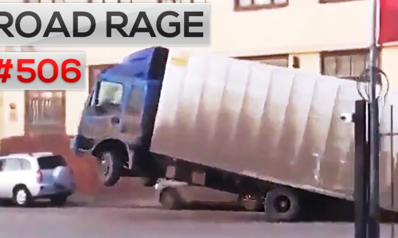 Daily Russian car crashes & Road Rage, Bad drivers compilation #506