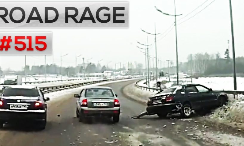 Car Crashes 2016 & Road Rage, accidents on dash cam. Bad drivers compilation #515