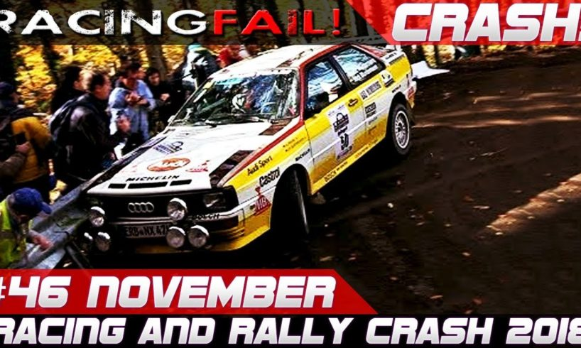 Racing and Rally Crash Compilation | Fails of the Week 46 November 2018