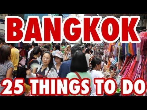 25 Amazing Things To Do in Bangkok, Thailand