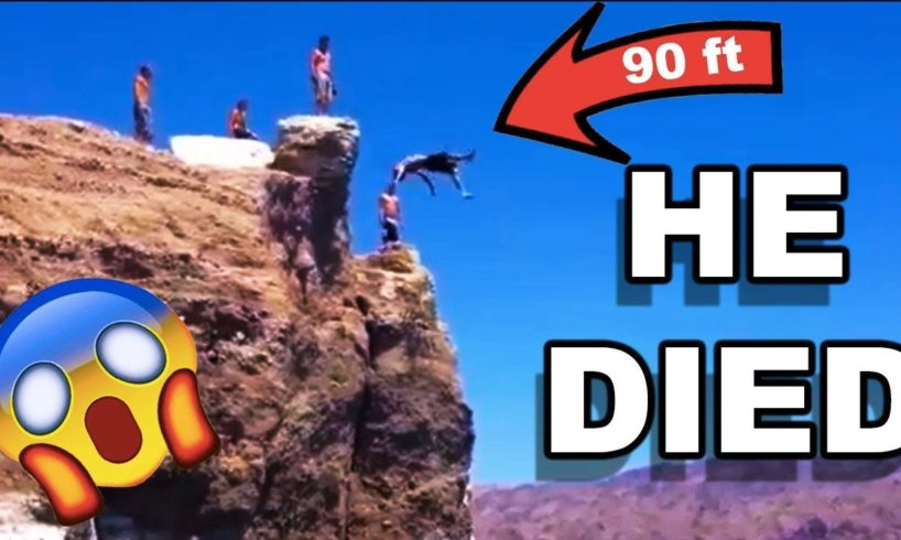 CLIFF JUMPING FAIL COMPILATION *DEATH*