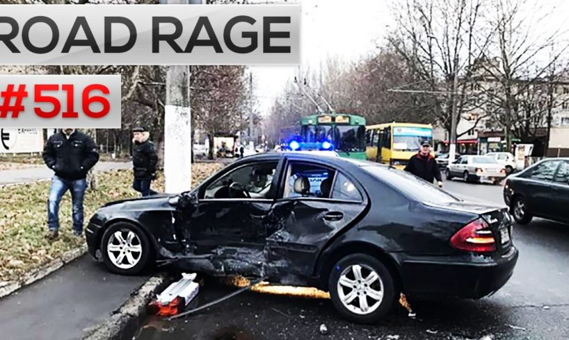 Car Crashes 2016 & Road Rage, accidents on dash cam. Bad drivers compilation #516