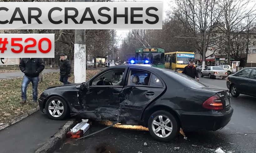 Car crashes caught on camera # 520 || Car crash compilation, accidents and Road rage 2016