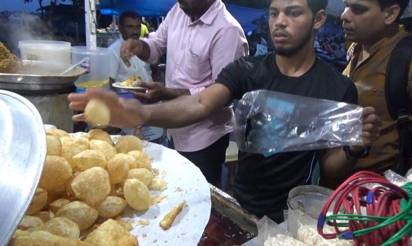 Chennai Panipuri Chaat | Samosa Masala Chaat @ 30 rs Plate | Street Food Tamil Nadu