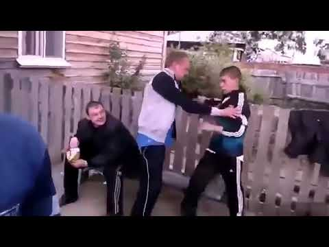 DRUNK FIGHTING IN THE GHETTO HOOD! NEW COMPILATION