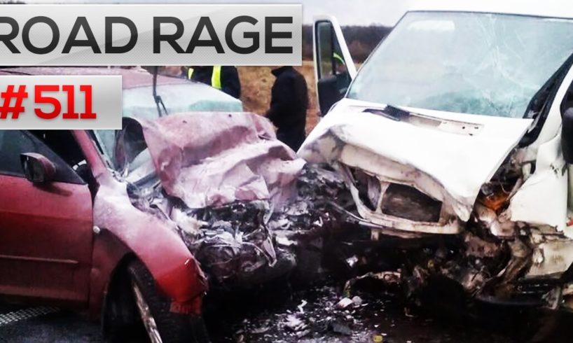 Daily Car Crashes & Road Rage, Bad drivers compilation #511