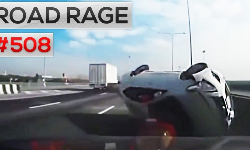 Daily car crashes & Road Rage, Bad drivers compilation #508