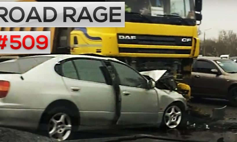 Daily car crashes & Road Rage, Bad drivers compilation #509