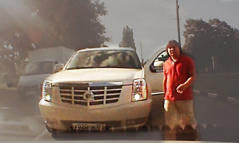 Dangerous and Funny Moments Driving Recorded on Camera #693
