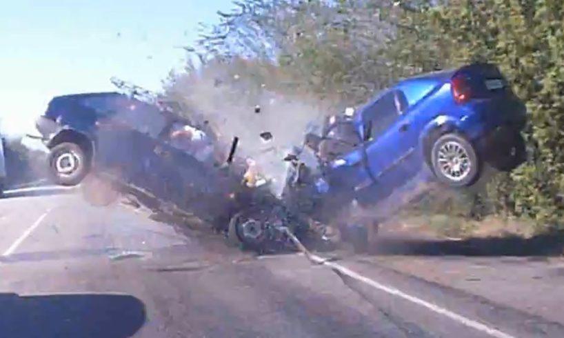 Deadly Car Crashes Caught on Tape Compilation 2018 || Brutal Crashes 2018