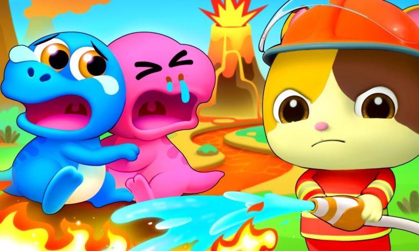Dinosaur Rescue Team   Dinosaur Song   Animal Song   Nursery Rhymes   Kids Songs   BabyBus