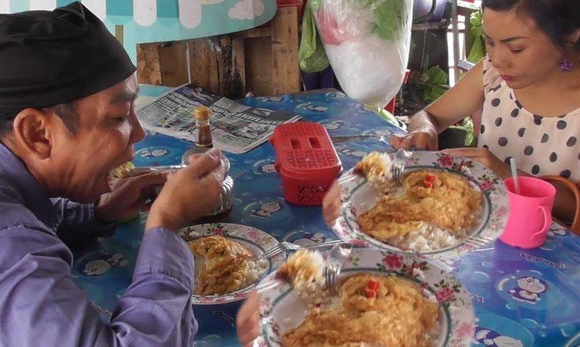 Egg Fry with Rice | Street Food Bangkok