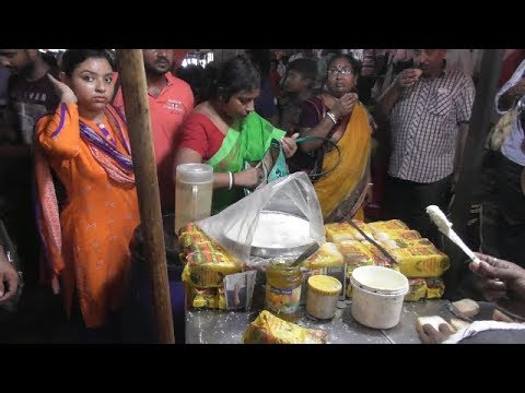 End Your Day with Butter Toast | Kolkata Street Food at Station | Indian Street Food in Evening Time