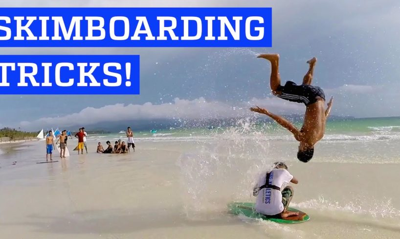 Epic skimboarding session! | People are Awesome