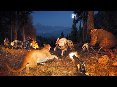 FAR CRY 5 - ALL ANIMAL FIGHTS!!!!!!!!!!!!