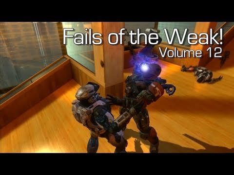 Fails of the Weak: Ep. 12 - Funny Halo 4 Bloopers and Screw Ups! | Rooster Teeth