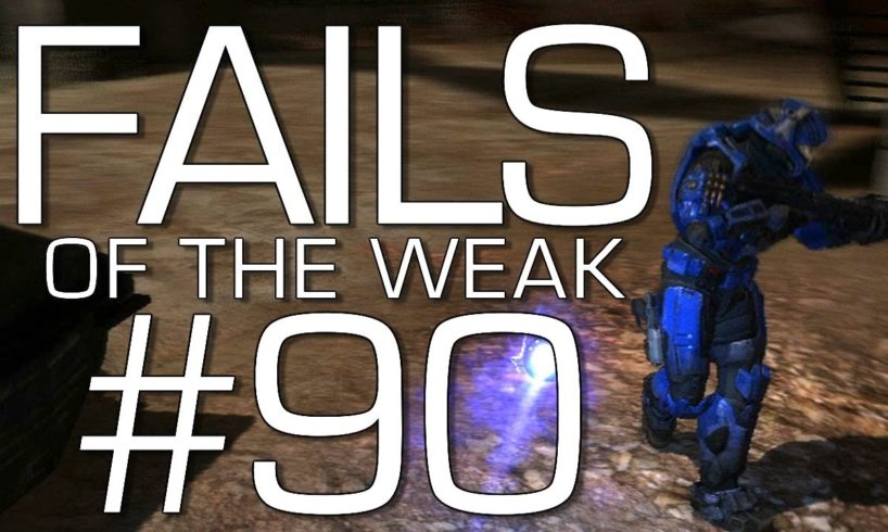 Fails of the Weak: Ep. 90 - Funny Halo 4 Bloopers and Screw Ups! | Rooster Teeth
