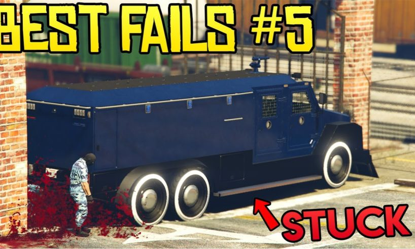 GTA Online Best FAILS of the Week #5 (Top Fails)