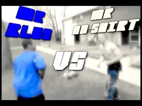 HOOD FIGHTS (MR BLUE VS MR NO SHIRT)