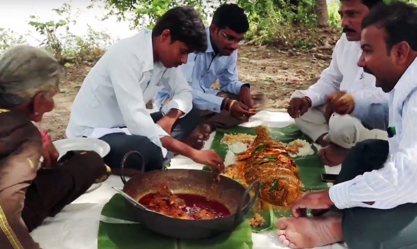 How To Make Full Fish Curry | Traditional Fish Recipe By Granny Mastanamma