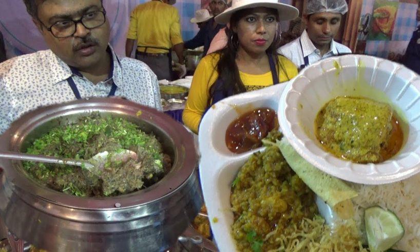 Kolkata People Enjoying Food at Ahare Bangla Food Festival |Varieties Food Stall |Indian Street Food